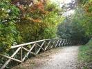 Sentiero lungo il Parco della Maddalena