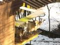 Un allevamento di animali a Tetti Forni