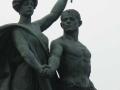 Una dei quattro gruppi statuari del Ponte Umberto I