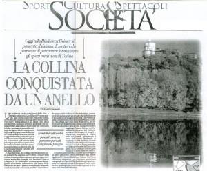 """""""La collina conquistata da un anello"""" di Stefano Camanni"""